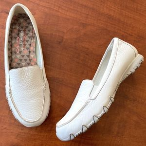 Skechers Bikers Relaxed Fit Memory Foam Flats